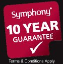 Symphony 10 Year Guarantee