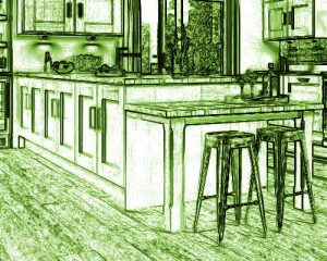 New Kitchen Penisula