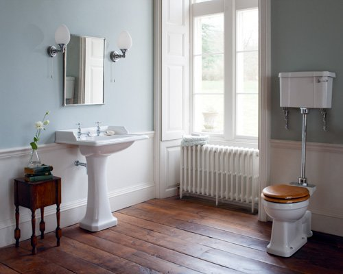 Burlington Traditional Basin Pedestal with low level WC