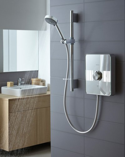 Aqualisa Lumi Electric Shower with Riser Rail