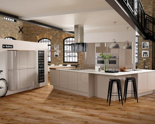 Beautiful Kitchen Oak Floor