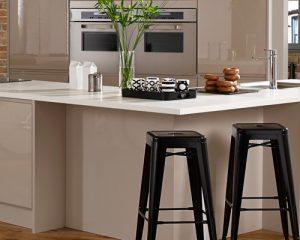 Ivory Marble Kitchen Worktop