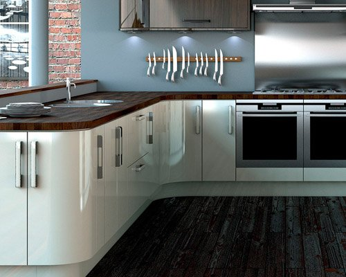 American Black Oak Kitchen Worktop